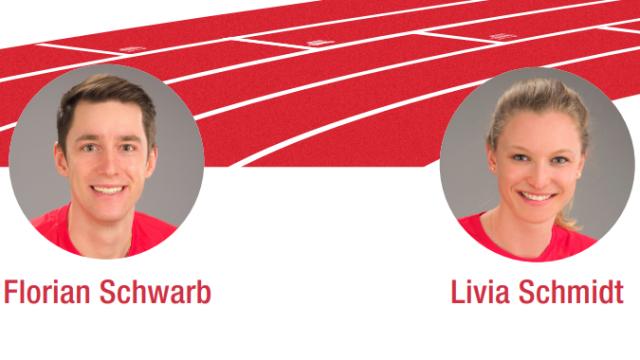 Florian Schwarb und Livia Schmidt
