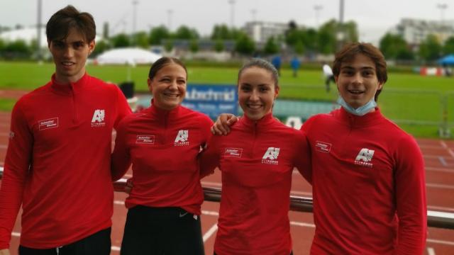 AthletInnen der Nachwuchs-Sprintgruppe des BTV Aarau Athletics